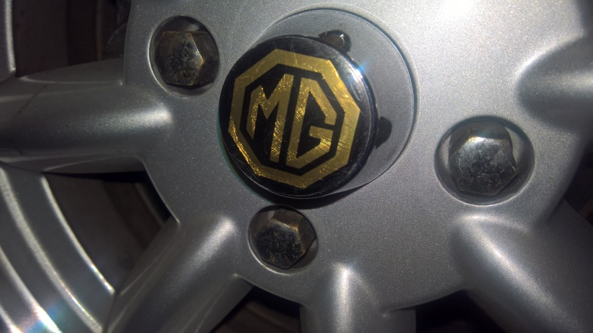 MGB Gold boot and bumper badges