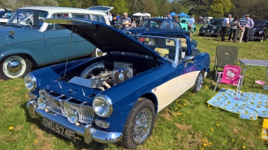 Thoresby Park Classic Car Show May 2018 5