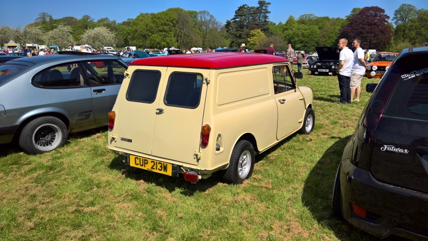 Thoresby Park Classic Car Show May 2018 2