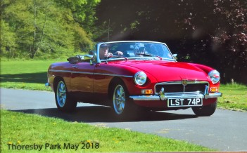 Thoresby Park Classic Car Show May 2018 6