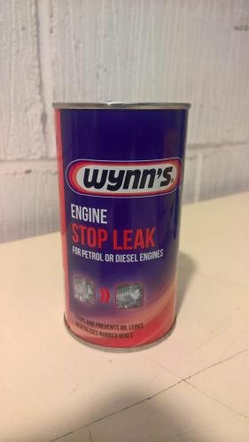 Additives? ….or not! stop leak