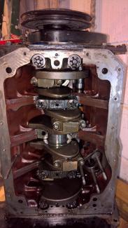 mgb crankcase main bearing