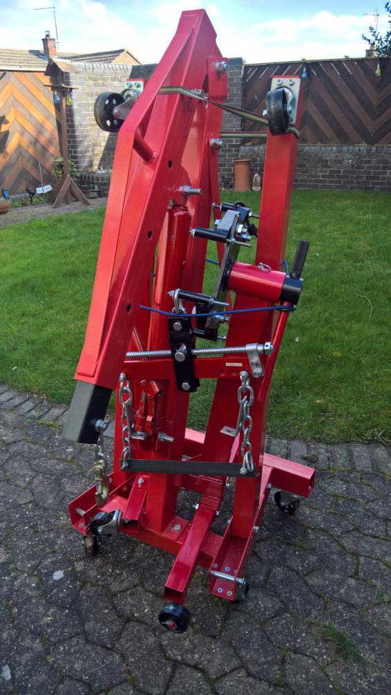 Engine Lifting Kit - folding crane