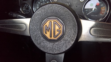 Jubille Year Gold steering wheel badge